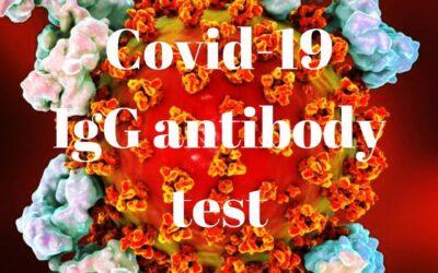 Covid-19 IgG Antibody test